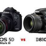 comparatif nikon D810 versus EOS 5D Mark III sur SHOTS