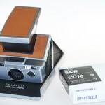 impossible project et polaroid SX70 review sur SHOTS