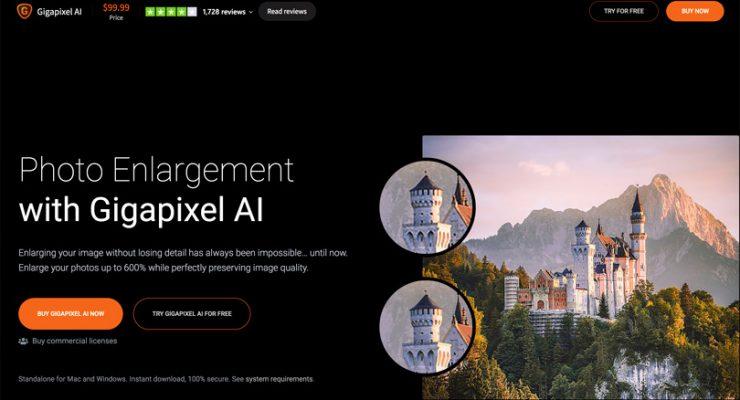 Gigapixel AI. La redimension sans perte de qualité