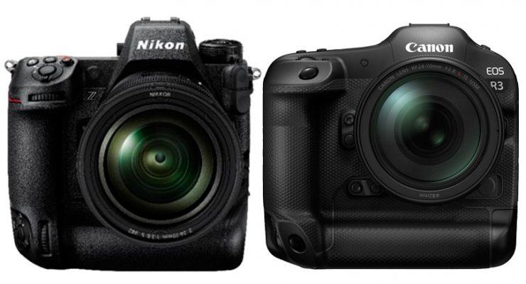 Nikon Z9 versus Canon R3. Rencontre au sommet.