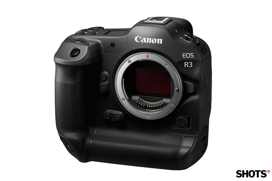 Canon EOS R3 vue de face