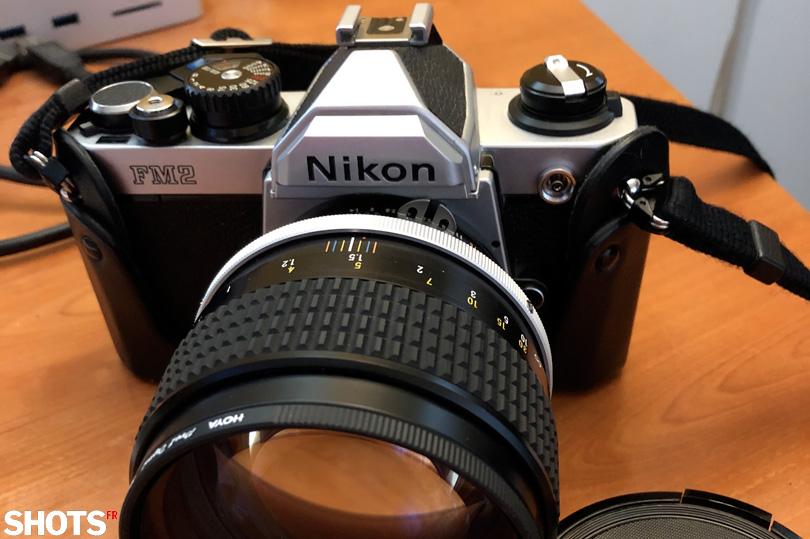 Nikon FM2n modèle esthétique de Nikon Z fc