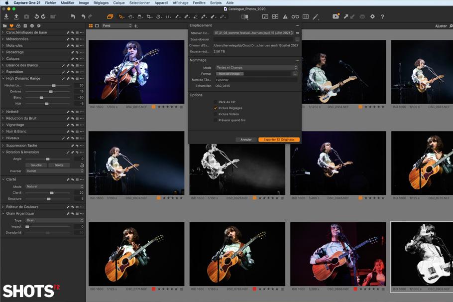 Sauvegarde pCloud et editing Capture One Pro, mon indispensable binôme.
